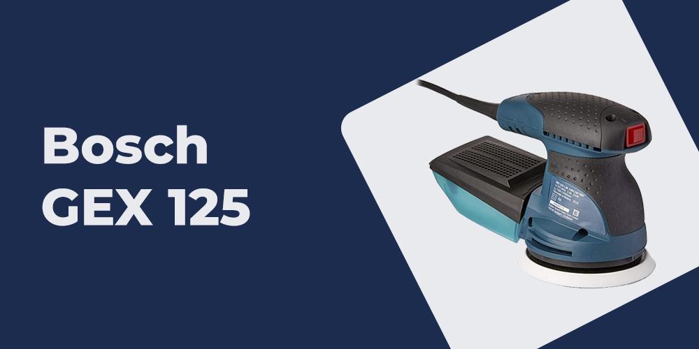 Lixadeira Excentrica GEX 125-1 AE