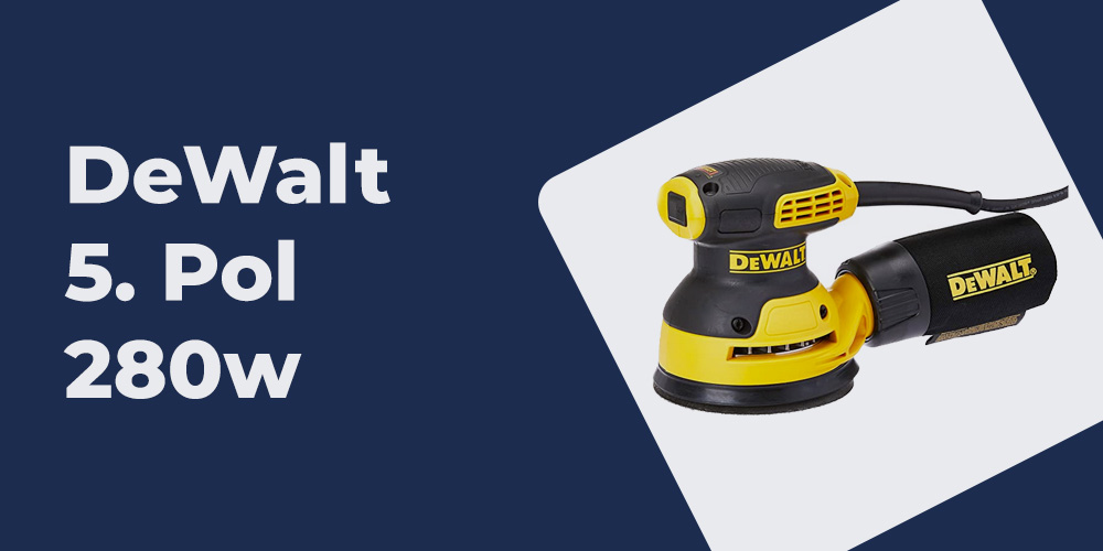 Lixadeira Rotorbital DeWalt
