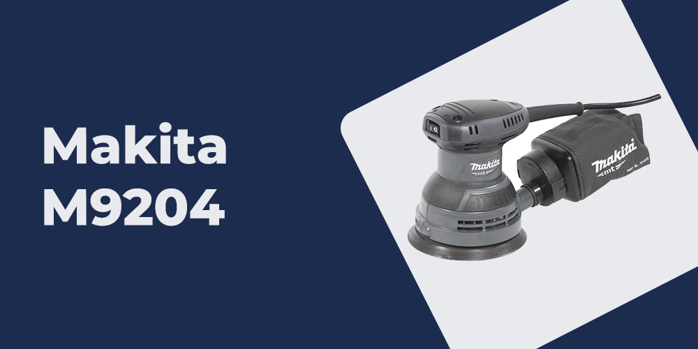 Lixadeira Rotorbital Makita M9204