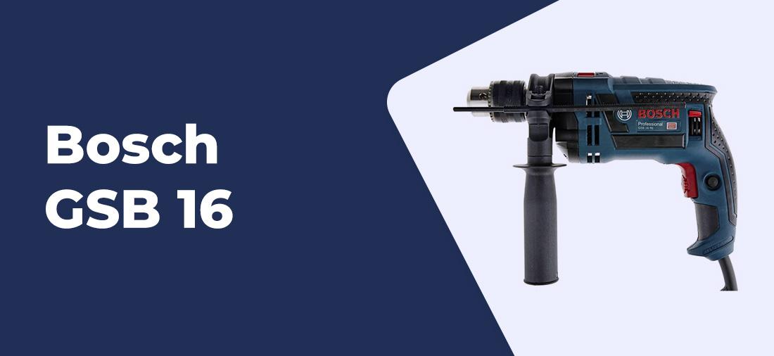 furadeira Bosch GSB 16
