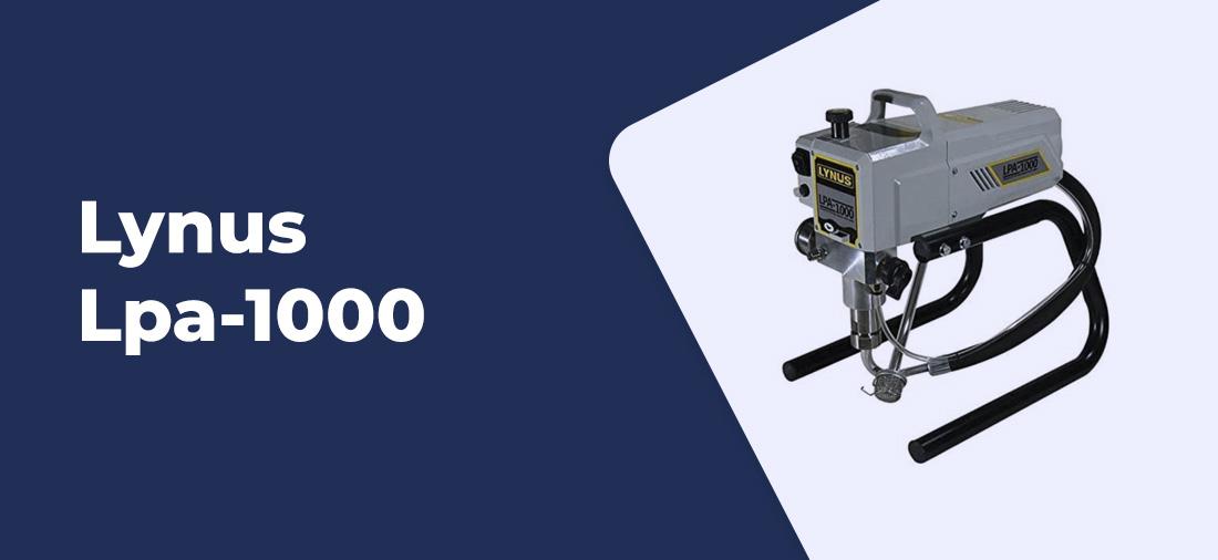 maquina de pintura airless Lynus Lpa-1000