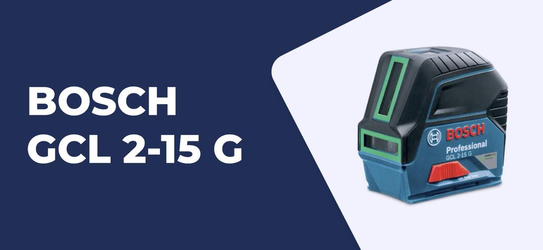 nivel laser BOSCH GCL 2-15 G