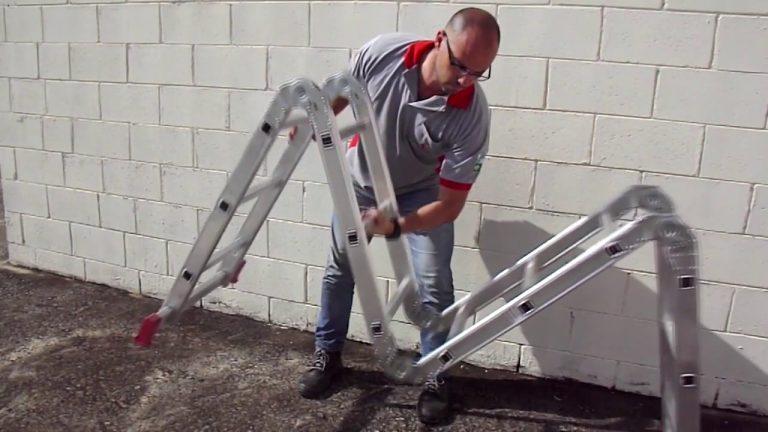 Como escolher uma escada articulada?