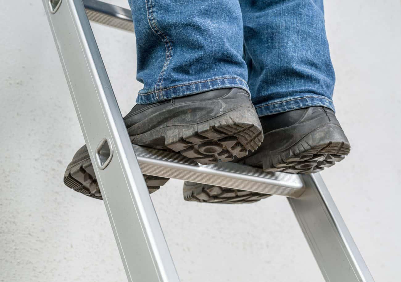 Como escolher uma escada de alumínio
