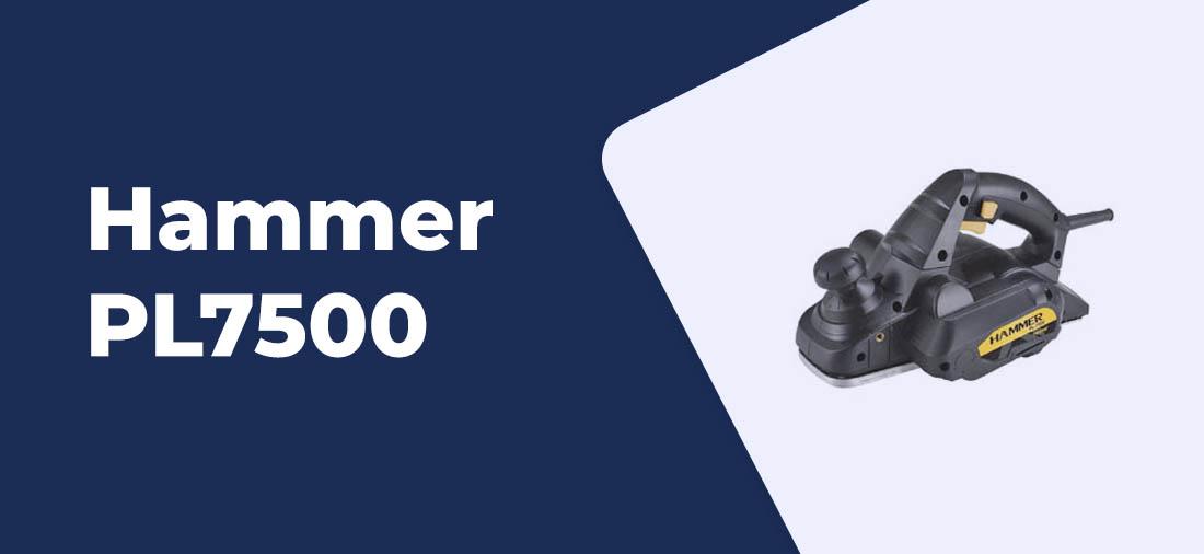 plaina eletrica Hammer PL7500 2