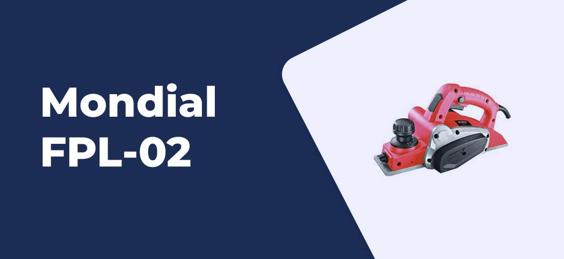 plaina eletrica Mondial FPL-02