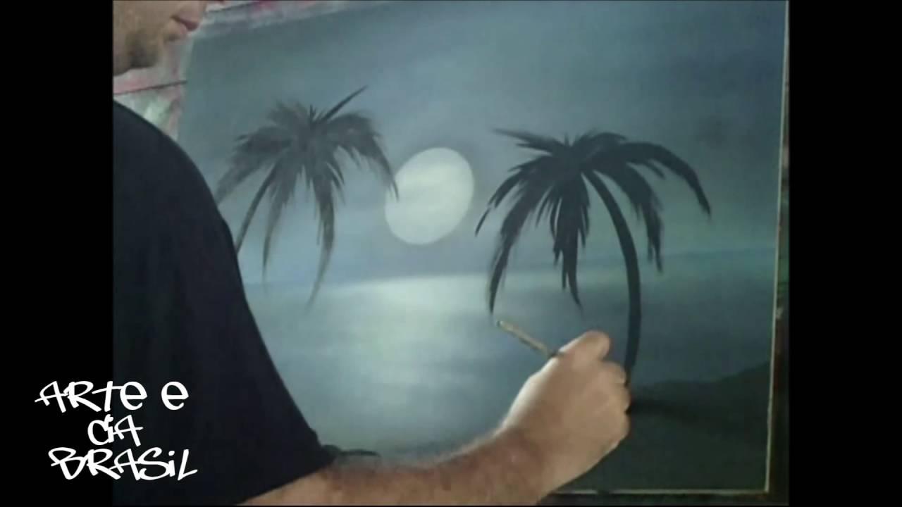 Pintura com aerógrafo