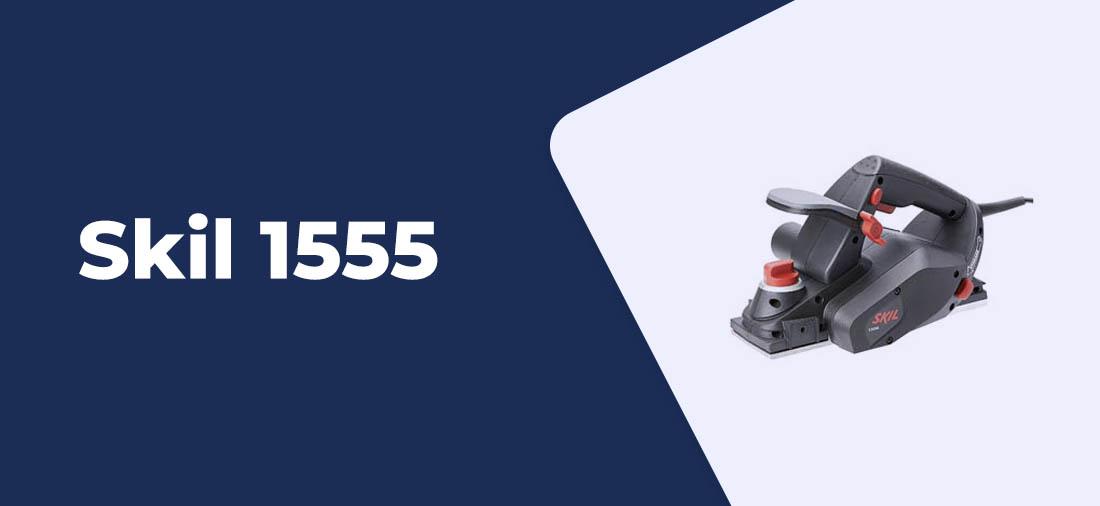 plaina eletrica Skil 1555 2
