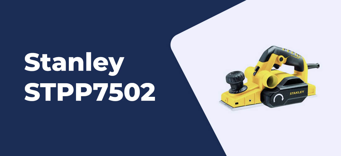 plaina eletrica Stanley STPP7502 2