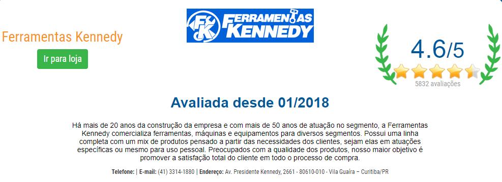 Ferramentas Kennedy no Loja Confiável