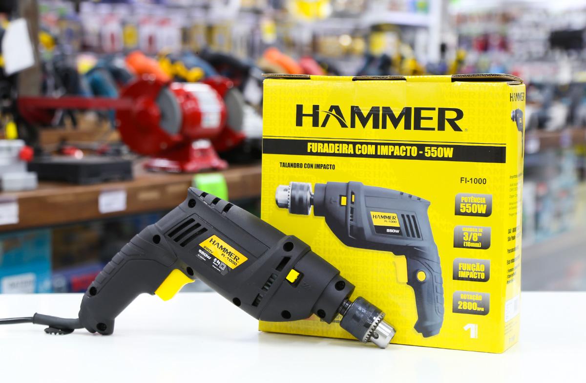 Furadeira Hammer é boa?
