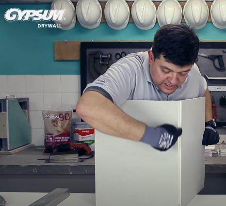 Como cortar Drywall