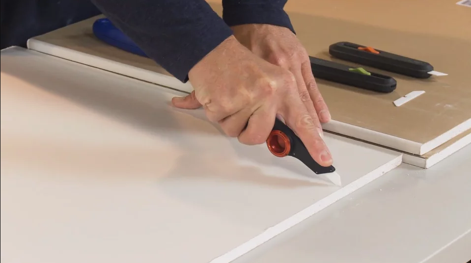 Como cortar drywall?