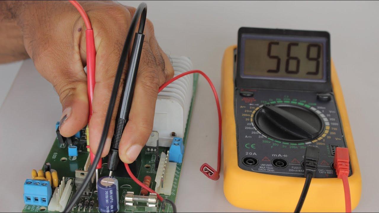 Como funciona o multímetro?